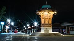 Sebilj (ekidreki) Tags: sarajevo bosnia herzegovina bosna hercegovina night long expo exposure city light lights balkan balkans travel photography street sony a7r2 a7rii a7rm2 ilce7rm2 1635