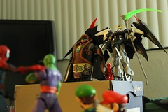 Ganondorf Ruling 1 (greatbamgino) Tags: luigi piccolo gundam deadpool ganondorf dbz super mario bros spiderman lego