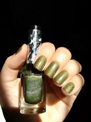 Única - La Femme (Mari Hotz) Tags: verde holográfico lafemme esmalte unha