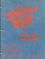 Schwinn Catalog - Bicycle Parts & Accessories - 1948/49 - Cover (Zaz Databaz) Tags: schwinn schwinncatalog 1948 1949 40s 1940s bfgoodrich