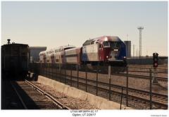 UTAX MP36PH-3C 17 (Robert W. Thomson) Tags: utax utahtransitauthority frontrunner mpi mp36ph3c fouraxle diesel locomotive train trains trainengine railroad railway ogden utah