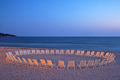 The Circle (Steve Bosselman) Tags: chairs ring circle beach seascape capecod