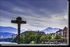 Bronze Crucifixion,Innsbruck, Austria