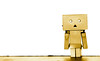 Danbo, just me. (CWhatPhotos) Tags: cwhatphotos colour color photographs photograph pics pictures pic picture image images foto fotos photography artistic that have which with contain olympus epl5 box danbo danboard toy mini light shadow shadows small dambo cartoon character head