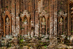 Temples at My Son, Vietnam (Andrew Parmanand) Tags: vietnam asian asia seasia myson temple temples ruin ruins