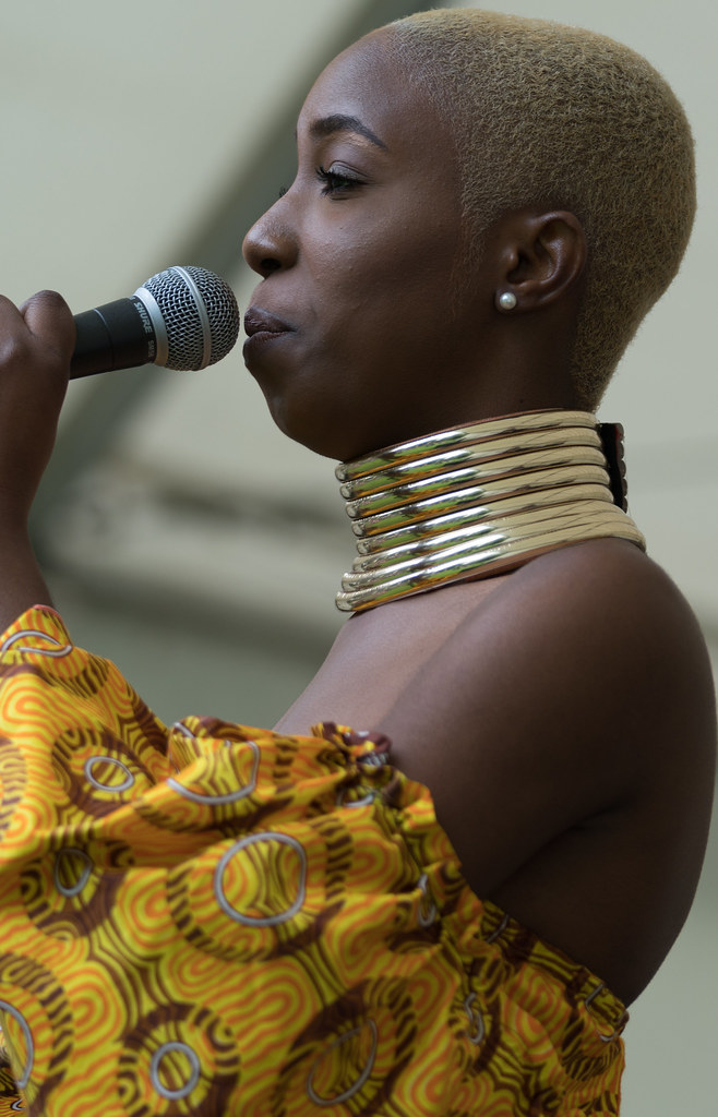 NC GREY IS A SOUL SINGER SONGWRITER [SHE PERFORMED AGAIN AT AFRICA DAY IN DUBLIN]-128599