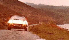 Anyone remember the TR7? (Peter Denton) Tags: triumphtr7 britishleyland sportscar vehicle llanrwst wales cymru countryside 35mm 1979 snowdonia nostalgia 1970s film scanned