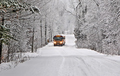 DSC_1333 (s_hallman55) Tags: winter snow bus school road rural country beauty white