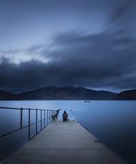 Blue Hour (Ben Lockett) Tags: mountains pier glenelg