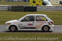 Classic Stock Hatch - R2 (20) Lee Scott (Collierhousehold_Motorsport) Tags: 750mc 750motorclub 750 snetterton snetterton300 classicstockhatch gti peugeot citroen vauxhall saxo stockhatch ford