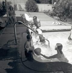 Poolside (jhitzeman) Tags: 45fairwaydrive novato dalene gene arthur janet bonnie hitzeman pool