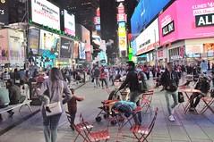 Times Square people 2017 (zaxouzo) Tags: timessquare people candid public fashion streetstyle 2017 nikond90 nyc night