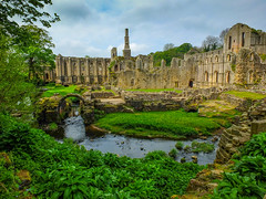 Fountains Abbey_ (tubblesnap) Tags: fountains abbey national trust studley royal river skell