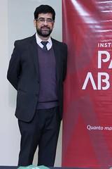 Professor Cássio Andrade, deixou sua assinatura no Pensadores da Liberdade – Liberdade e Cidadania