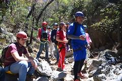Esperando a descender (::: Mer :::) Tags: sierrazapaliname coahuila cañondesanlorenzo rapel rappel outdoors mountains montañas cerros hiking montañismo caminata naturaleza nature canyon