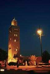 Day 8 (AngelK32) Tags: koutoubia mosque marrakesh marrakech morocco northernafrica nikond90 primelens night minaret 24mm dslr travelphotography maroc tower capitalcity landmark
