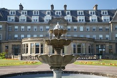 Gleneagles Hotel (itmpa) Tags: gleneagleshotel gleneagles hotel 1913 192425 1920s caledonianrailway matthewadam jamesmiller grounds landscape fountain railway railwayhotel listed categoryb straightfromthecamera unedited nophotoshop ahssstudytour studytour ahss architecturalheritagesocietyofscotland scotland archhist itmpa tomparnell canon 6d canon6d