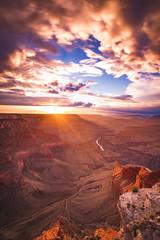 Grand Canyon Sunset (BrendanBannister) Tags: moody pnw washington pacific northwest zion national park angels landing horsehoe bend arizona utah milky way stars astro long exposure grand canyon