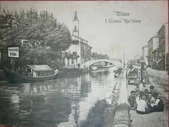 San Cristoforo 1905-10 (Milàn l'era inscì) Tags: urbanfile milanl'erainscì milano milan oldpicture milanosparita vecchiefoto san cristoforo
