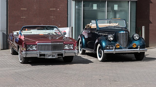 American cars from two different era's