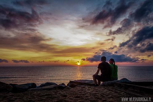 Wspólne podziwianie wschodu słońca