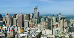 augmented skyline (pbo31) Tags: bayarea california nikon d810 color may 2017 spring boury pbo31 northerncalifornia sanfrancisco over salesforce skyline construction city urban view hilton hotel financialdistrict cbd tenderloin panoramic large stitched panorama rooftops