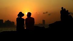 夕陽醉了  Sunset fever (C. Alice) Tags: color city people water sea orange sun sunset boat shadow cloud reflection sky beach seashore 2017 hongkong summer canonef24105mmf4lisusm canoneos6d eos6d canon 24105mm favorites50 aatvl01 1000views favorites100 aatvl02 3000v120f 3000views aatvl03 favorites150 4000views aatvl04