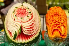 Penang (monzaevo) Tags: malaysia penang georgetown foodfestival piff carving food art