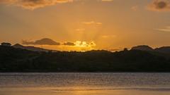 St. James's Club Antigua 5 May 2017 (BaggieWeave) Tags: antigua stjamessclub mamorabay sunset sunray landscape seaside sea