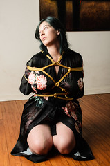 Heather - Gote/Hishi (David Arran Photography) Tags: kink davidarranphotography nsfw shibari kinbaku tied gote rope bondage fetish ropenight alienbees