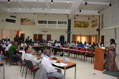 Parkes speaks at Breeding4GC forum (IITA Image Library) Tags: breeding cassava manihotesculenta iita