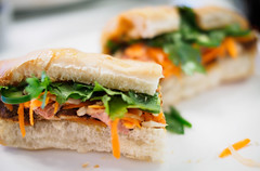 the moncton bánh mì ((robcee)) Tags: banhmi 2017 carrots cilantro daikon jalapeno moncton pate pork sandwich camera:model=em1 exif:isospeed=800 exif:make=olympusimagingcorp camera:make=olympusimagingcorp exif:model=em1 geolocation