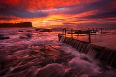 Avalon Delight (Brian Bornstein) Tags: waves water beach ocean rockpool avalon avalonrockpool brianbornstein sunrise seascape sydney canon6d avalonbeach nsw