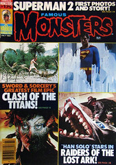 Famous Monsters Magazine #175 (Hydra5) Tags: famousmonsters cover scifi magazine rayharryhausen raidersofthelostark superman clashofthetitans