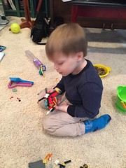 "Paul Plays with Legos • <a style=""font-size:0.8em;"" href=""http://www.flickr.com/photos/109120354@N07/34471608665/"" target=""_blank"">View on Flickr</a>"