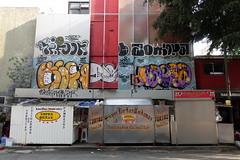 10foot zombra bise desek magia (Luna Park) Tags: cdmx mexicocity mexico graffiti bombing lunapark zombra 10foot desek magia bise handpainted tortas