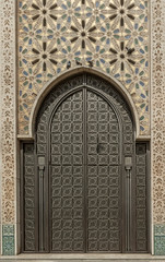 mosque door (susanm53@verizon.net) Tags: northafrica mosque hassanii 2017 religous casablanca morocco architecture