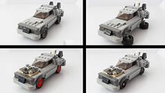 Lego Delorean as a Speed Champions car (hachiroku24) Tags: lego delorean back future speed champions moc