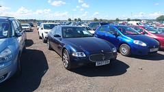 Maserati Quattroporte (kylebaptie) Tags: car maserati italian quattroporte sk07exn