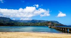 Kaui 477 20170403_095336 (cpburt) Tags: kauai hawaii hanaleipier hanaleibay hanaleibeach hanalei ocean beach waves shore