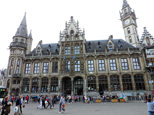 The old Post Office, Korenmarkt, Ghent