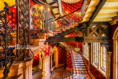 St. Pancras Renaissance Hotel (II), London, UK (davidgutierrez.co.uk) Tags: london architecture art city photography interior davidgutierrezphotography nikond810 nikon urban travel color londonphotographer photographer uk stpancrasrenaissancehotel renaissance hotel stpancras red stairs reflections design building colors colour colours colourful vibrant buildings england unitedkingdom 伦敦 londyn ロンドン 런던 лондон londres londra europe beautiful cityscape davidgutierrez capital structure britain greatbritain ultrawideangle afsnikkor1424mmf28ged 1424mm d810 arts landmark attraction architecturaldesign luxury vivid beautifullondon indoor interiors interiordesign decor interiordecor
