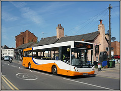 Travel de Courcey 559, Church Street (Jason 87030) Tags: mcv man evo evolution ae07dzj mike traveldecouurcey 585a coventry rugby pub street road orange bus 559 churchst sony ilce capture transportation may 2017 town uk england midlands woman girls scene photogrpahy sunny nice pretty color colours people public transport wheels warks warwickshire display local visit church shops cat squirrel rodent rat bins chairs cars roadside colour bike passengers publictransort journey destination wife shopping amateur photographer