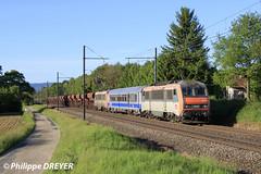 BB26186 sur train Perrigny Sibelin vers St Etienne du Bois (philippedreyer1) Tags: