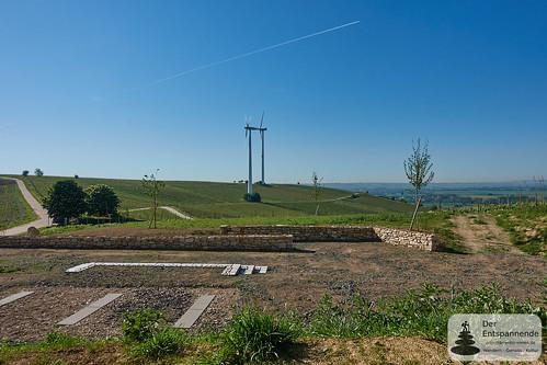 Station 1 der neuen Hiwweltour bei Zornheim?
