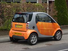 1999 Smart City-Coupé (harry_nl) Tags: netherlands nederland 2017 putten 1999 smart citycoupé longvehicle 76dfpl sidecode6