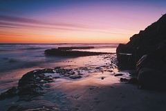 Swami's Beach - Encinitas, CA. (j_adajar) Tags: sunset golden hour swamis encinitas california coast beach ocean long exposure gnd filter landscape
