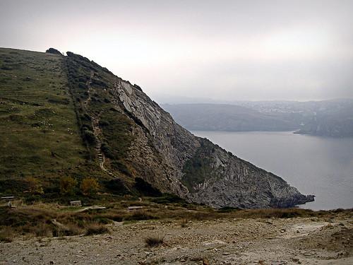 La costa escalonada