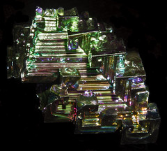 Bismuth - Manmade  (No. 2734-05122017) (geraldarmstrong48) Tags: bismuth manmademinerals artificalminerals mineralcollection mineral minerals specimen specimens stone stones rock rocks mineralogy geology earthscience crystal nature