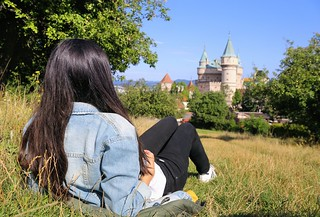 Afternoon delight at Bojnice Castle